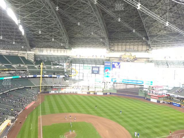 Miller Park Section 418 view