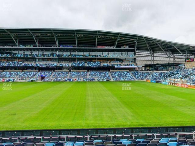 Allianz Field Section 11 view