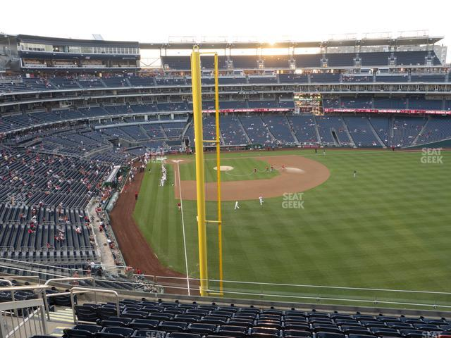Nationals Park Section 234 view