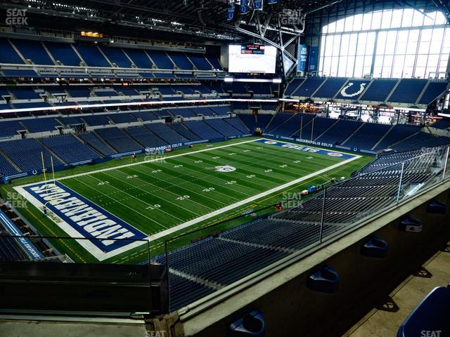 Lucas Oil Stadium Section 519 view