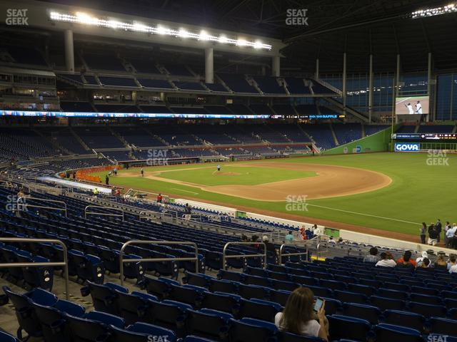 Marlins Park Section 5 view