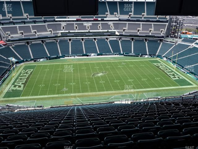 Lincoln Financial Field Section 224 view