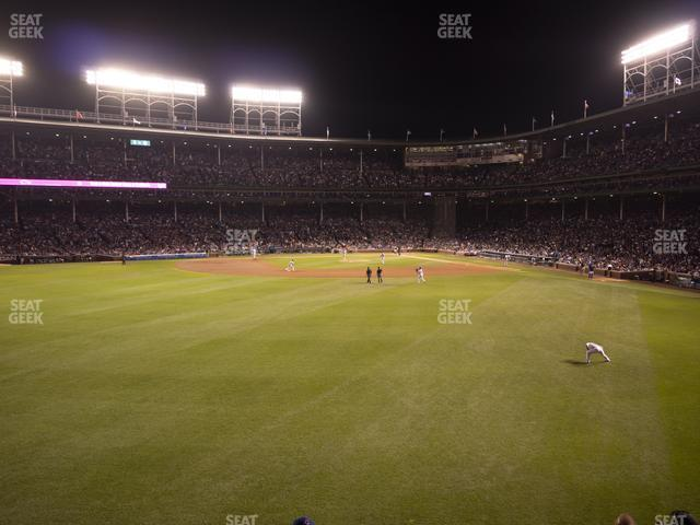 Wrigley Field Budweiser Bleachers 505 view