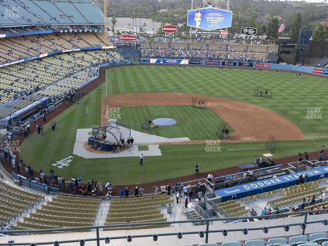Dodger Stadium Reserve 8 view