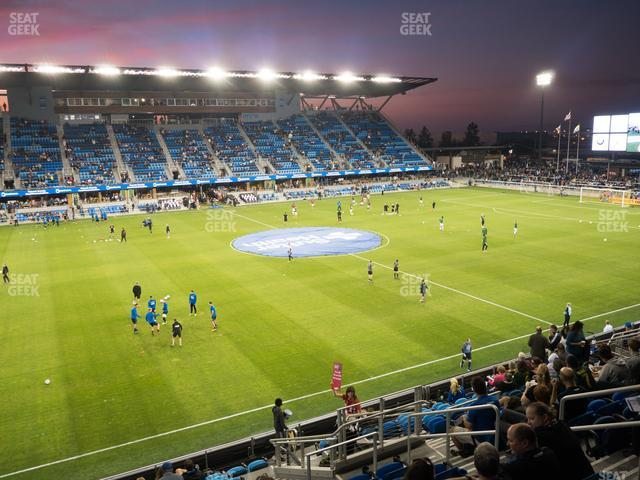 Avaya Stadium Section 126 view