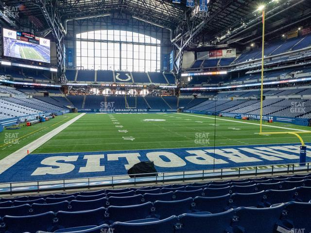 Lucas Oil Stadium Section 128 view