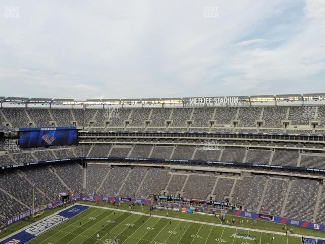 MetLife Stadium Section 336 view