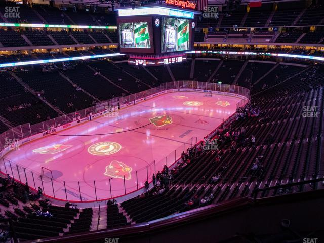 Xcel Energy Center Section Club 32 view