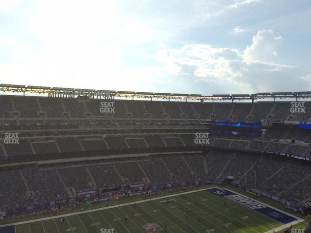 MetLife Stadium Section 317 view