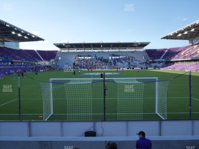 Exploria Stadium Section 4 view