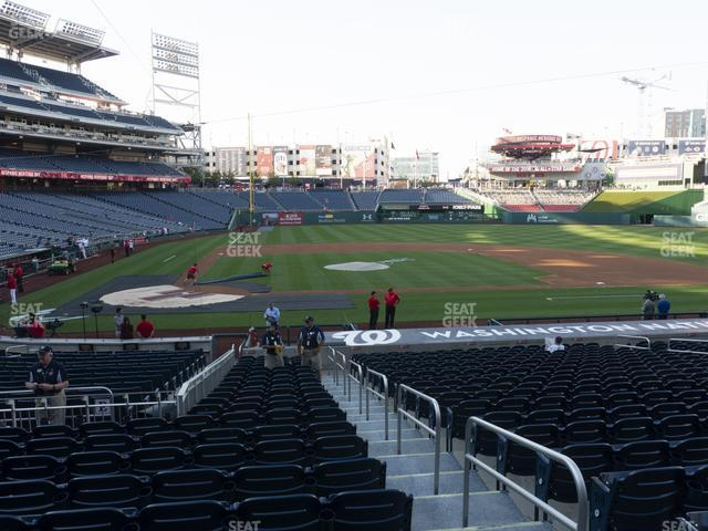 Nationals Park Section 129 view