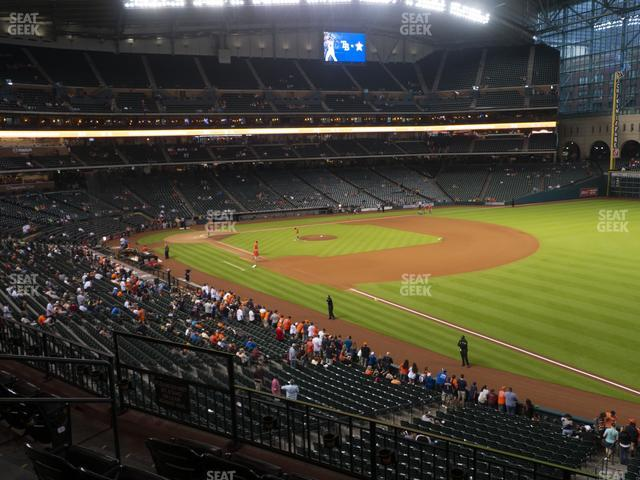 Minute Maid Park Section 232 view
