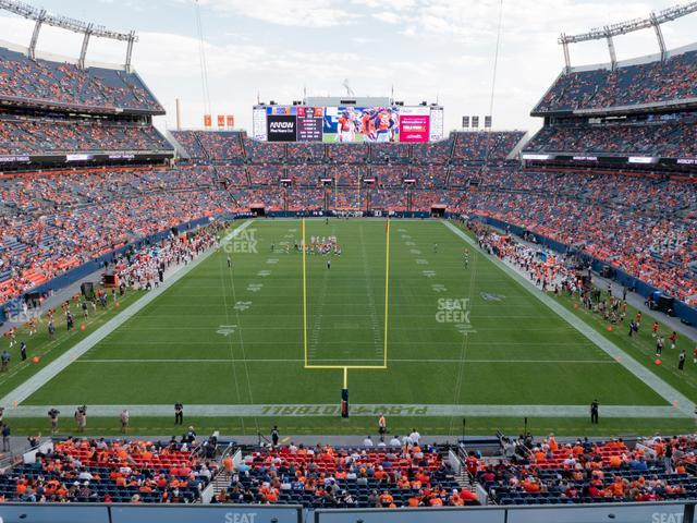 Empower Field at Mile High Section 323 view