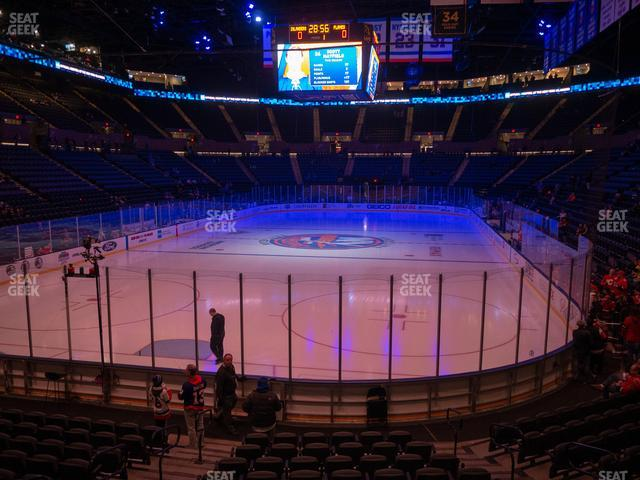 Nassau Veterans Memorial Coliseum Section 123 view