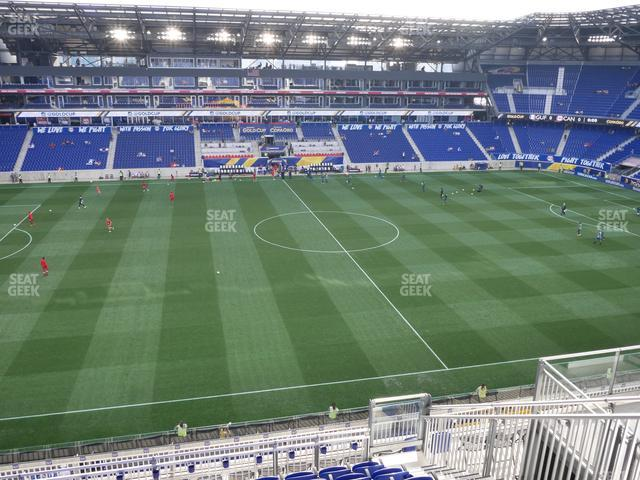 Red Bull Arena Section 227 view