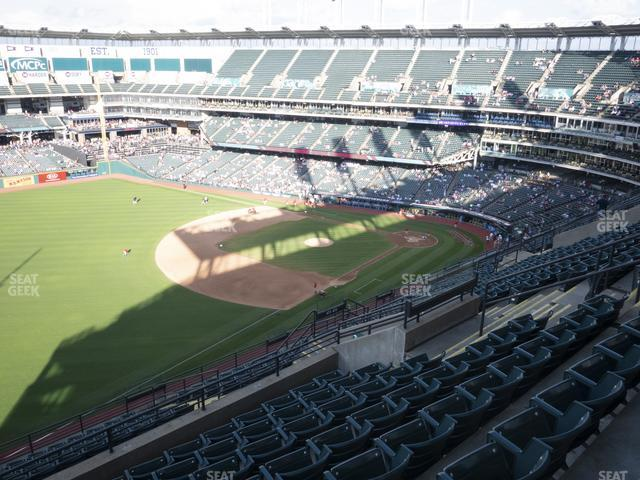 Progressive Field Section 575 view