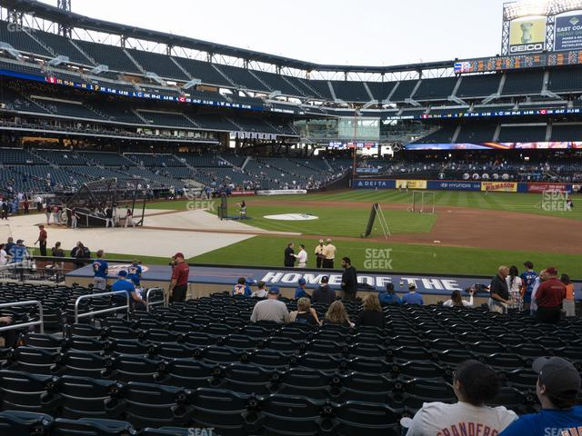 Citi Field Section 112 view