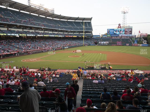 Angel Stadium of Anaheim Section 223 view