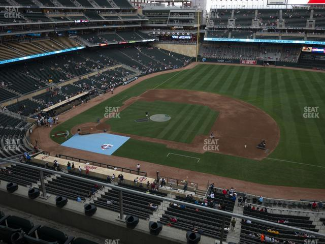 Target Field Section 208 view