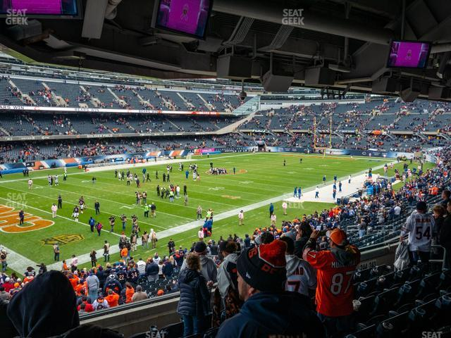 Soldier Field Section 244 view
