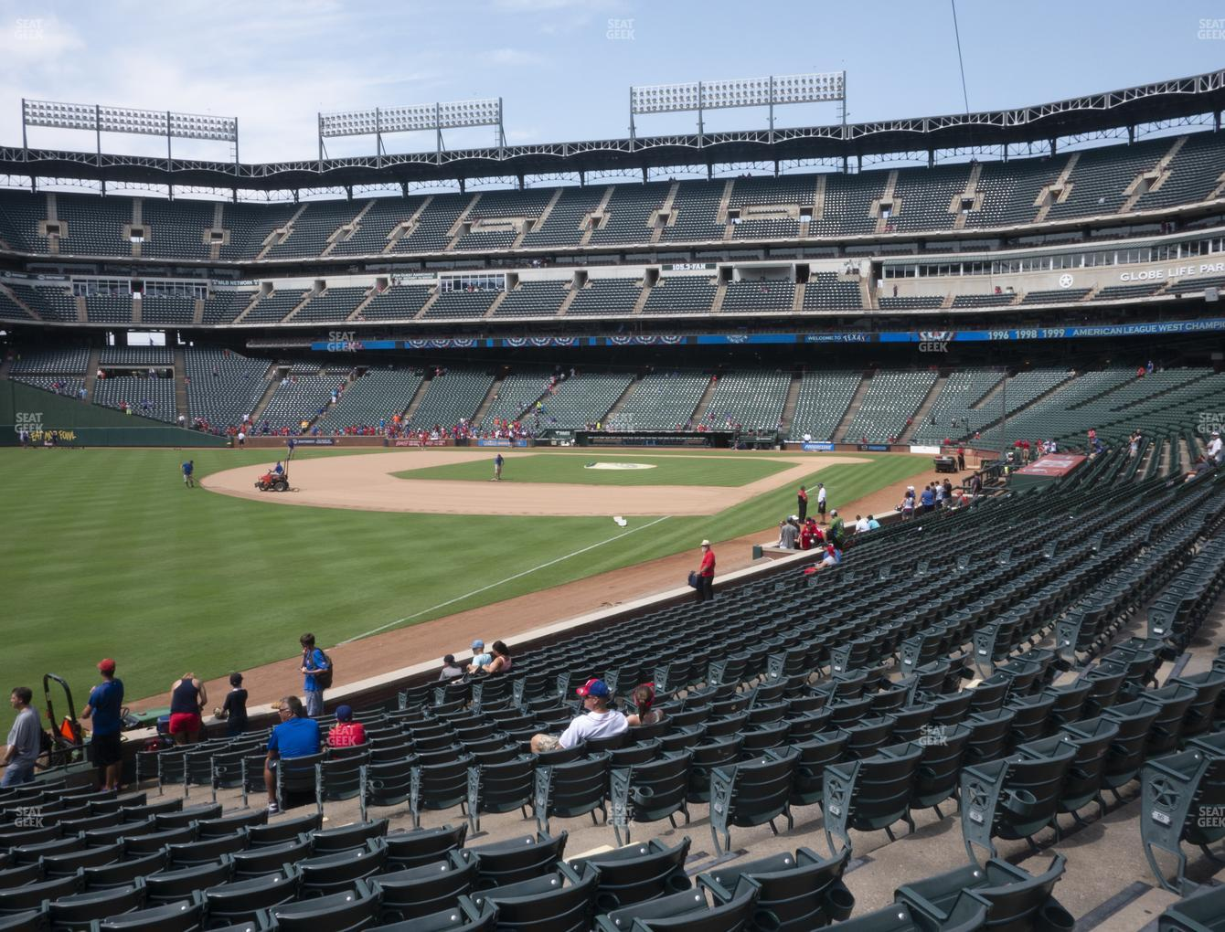 Concert at Globe Life Park Section 12 View