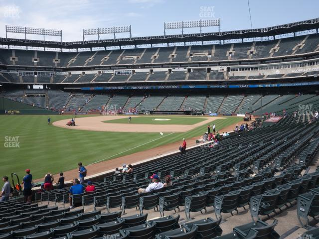 Globe Life Park Section 12 view