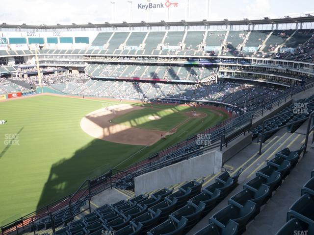 Progressive Field Section 577 view