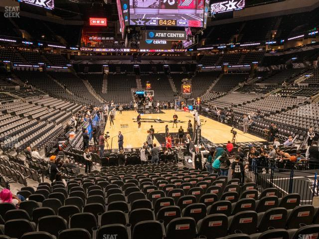 AT&T Center Section 101 view