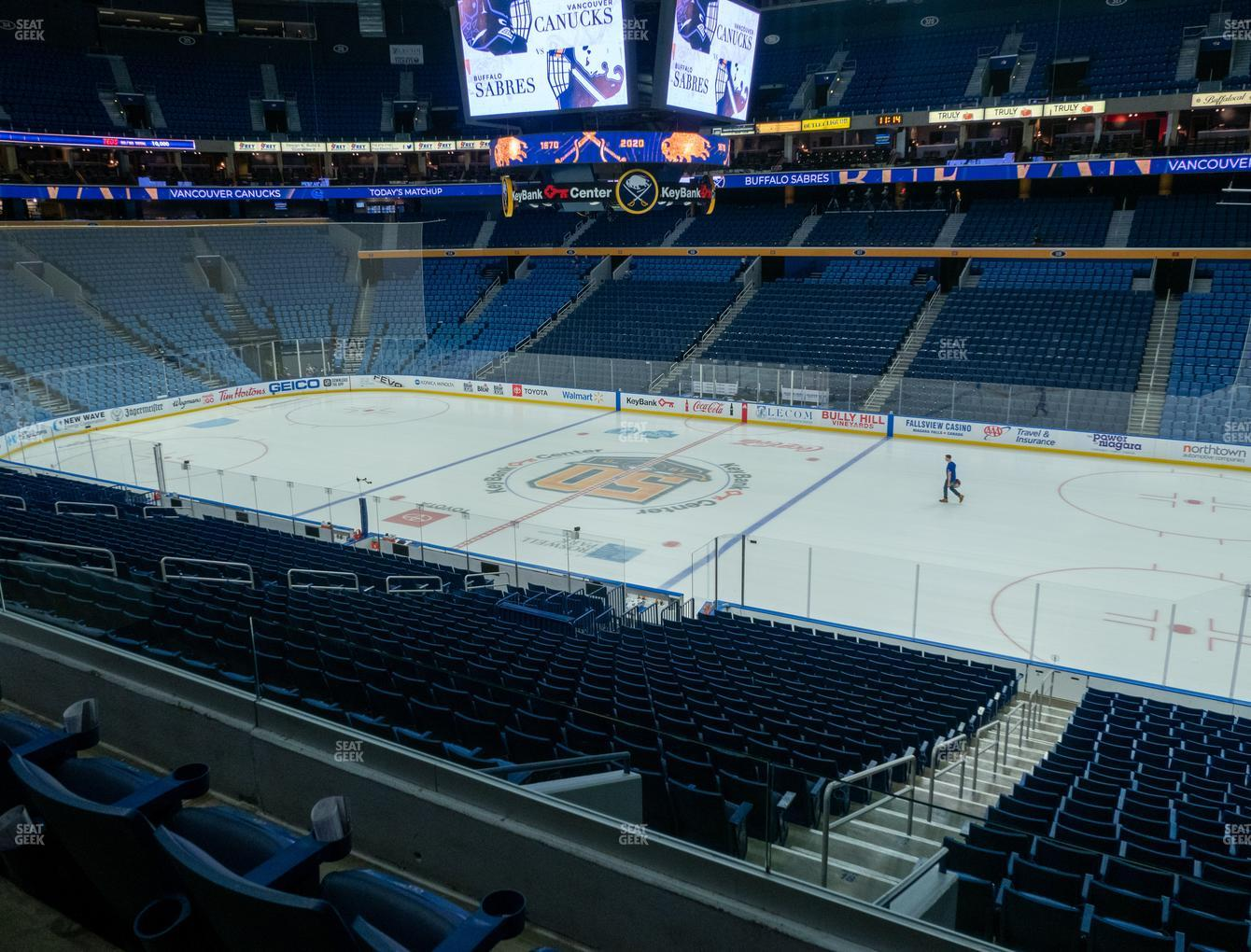 Buffalo Sabres at KeyBank Center Section 205 View
