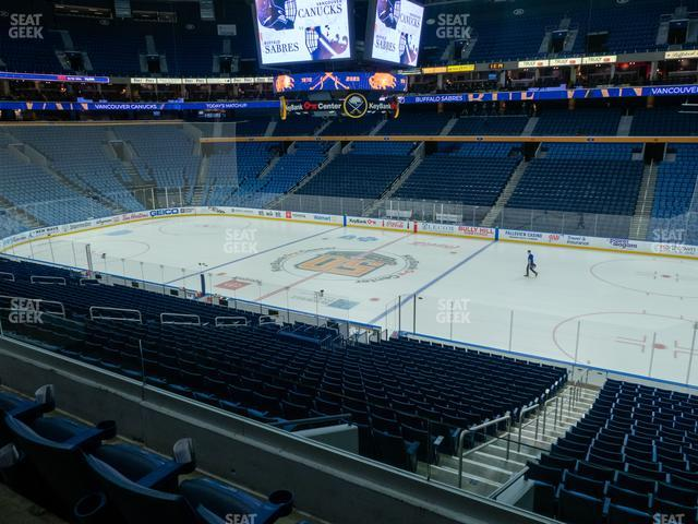 KeyBank Center Section 205 view