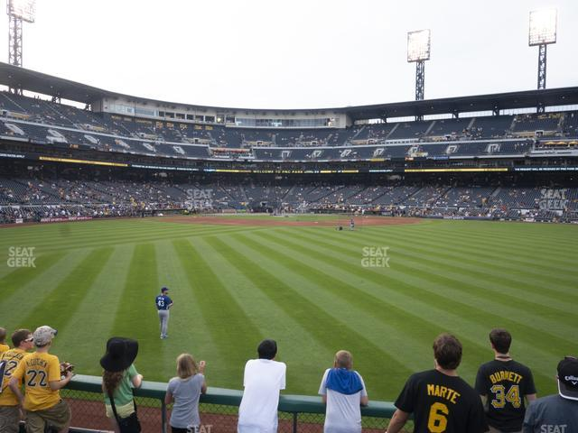 PNC Park Section 141 view