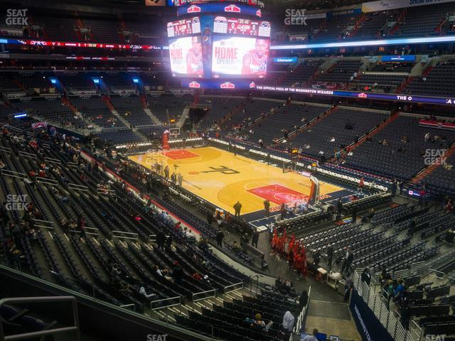 Capital One Arena Section 205 view