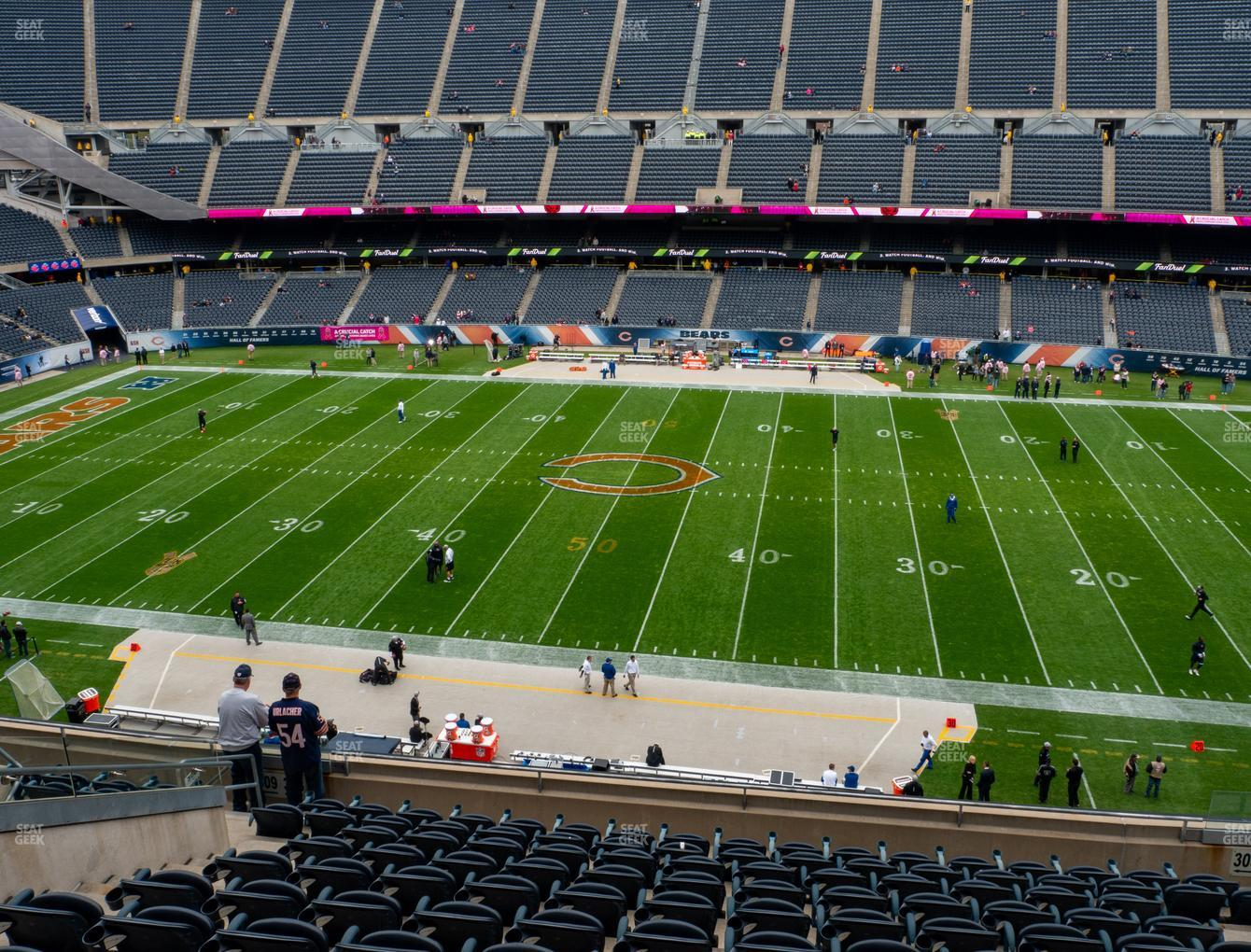 Chicago Bears at Soldier Field Section 308 View