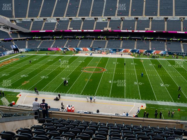 Soldier Field Section 308 view