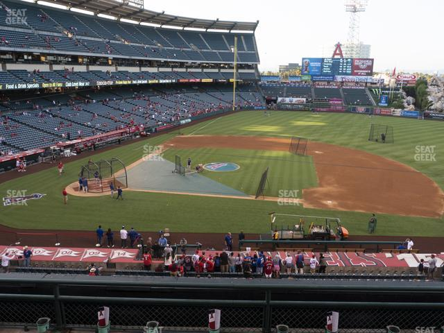 Angel Stadium of Anaheim Section 334 view
