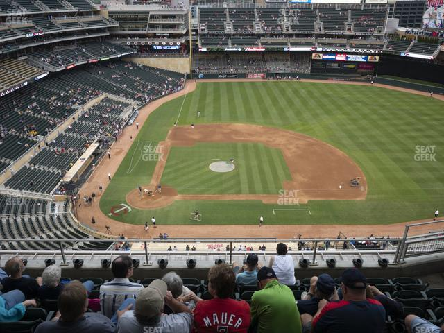 Target Field Section 310 view