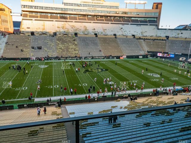 Folsom Field Section 301 view