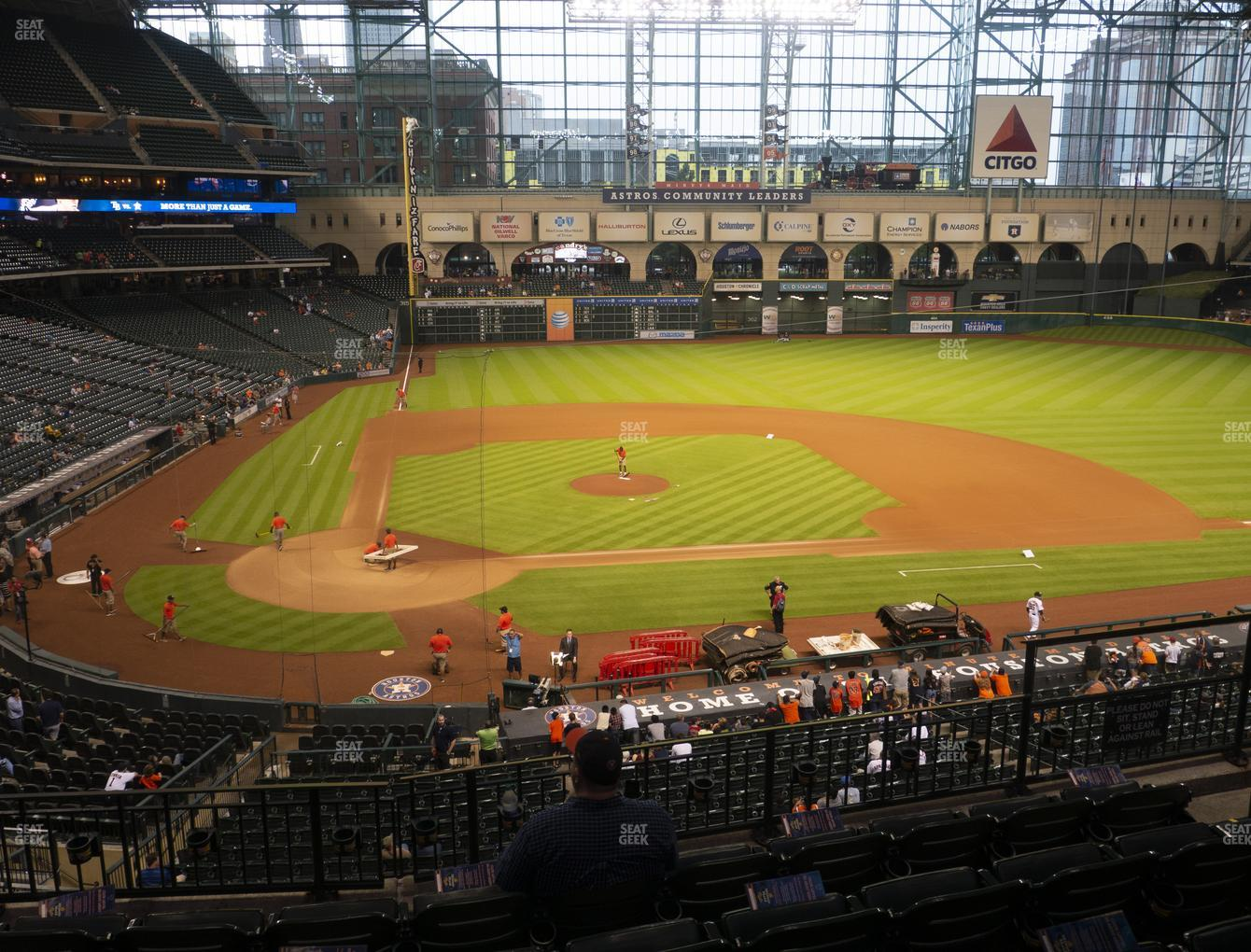 Houston Astros at Minute Maid Park Section 223 View