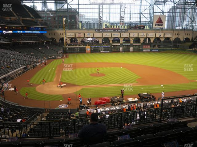 Minute Maid Park Section 223 view