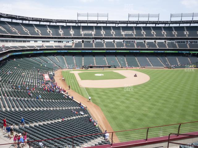 Globe Life Park Section 244 view