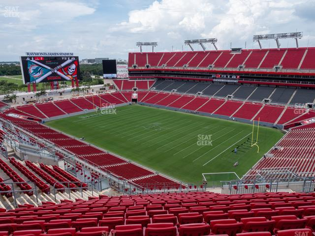 Raymond James Stadium Section 342 view