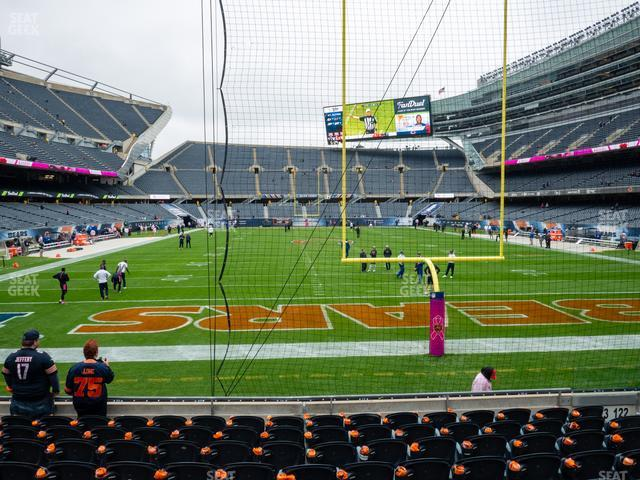 Soldier Field Section 123 view