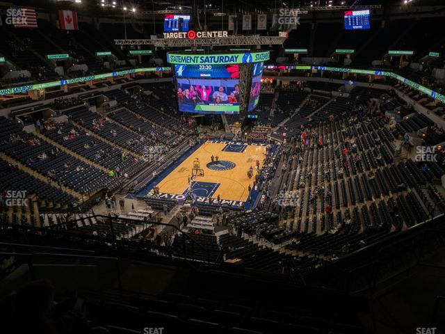 Target Center Section 239 view