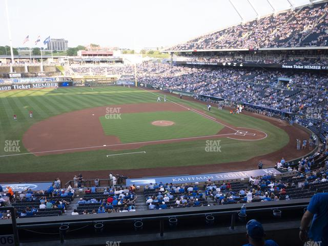 Kauffman Stadium Section 306 view