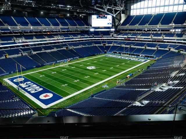 Lucas Oil Stadium Section 546 view