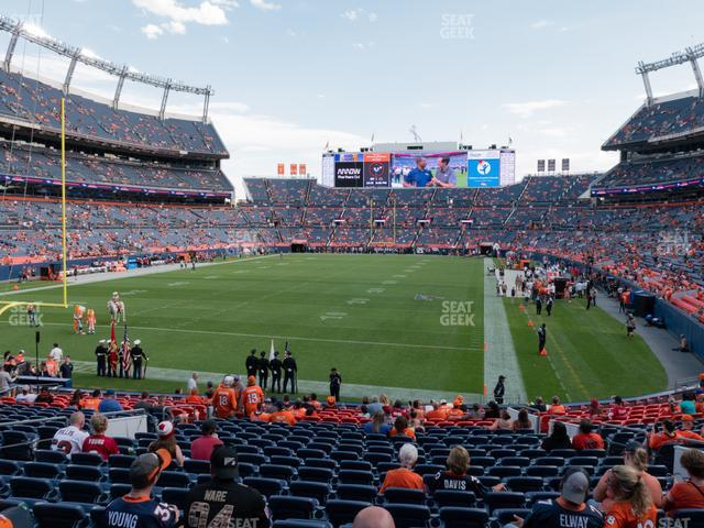 Empower Field at Mile High Section 112 view