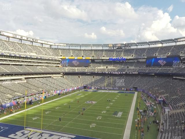MetLife Stadium Section 248 view