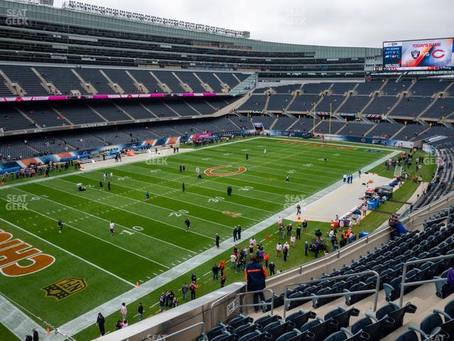 Soldier Field Section 344 view