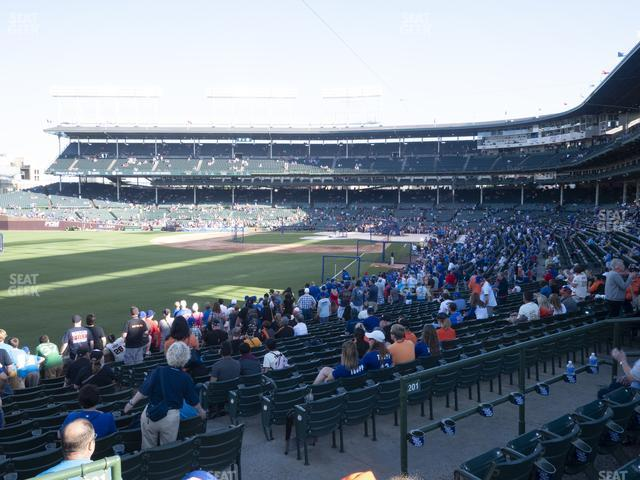 Wrigley Field Section 202 view
