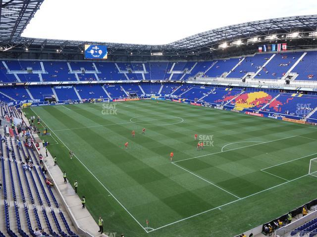 Red Bull Arena Section 204 view